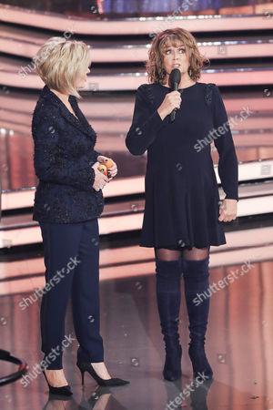 Carmen Nebel and Wencke Myhre