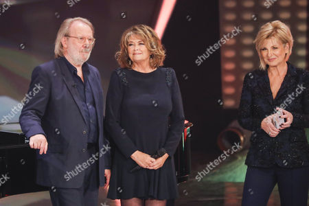 Stock Image of Benny Andersson, Wencke Myhre and Carmen Nebel