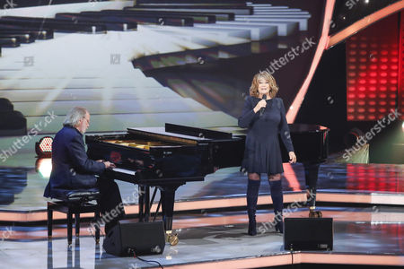 Benny Andersson and Wencke Myhre