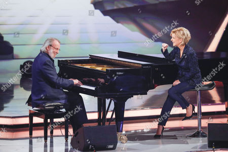 Carmen Nebel and Benny Andersson