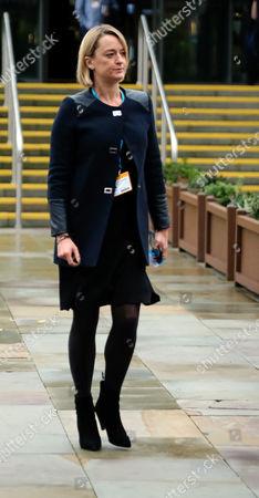Laura Kuenssberg arrives outside