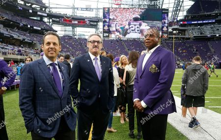 Editorial photo of Lions Vikings Football, Minneapolis, USA - 01 Oct 2017