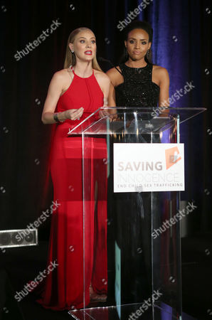 Editorial photo of The 6th Annual Saving Innocence Gala, Inside, Los Angeles, USA - 30 Sep 2017