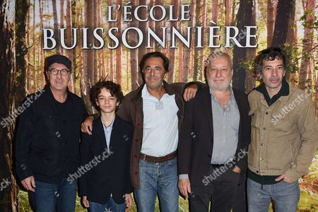 Editorial image of 'L'ecole Buissonniere' film premiere, Paris, France - 01 Oct 2017