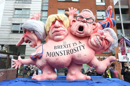 An anti-brexit protest is taking place in Manchester today on the first day of the Conservative Party Conference that is being held at the Midland Hotel & Manchester Central.