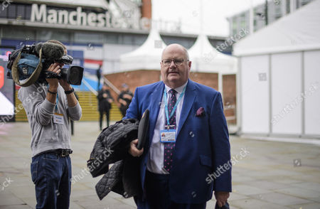 Eric Pickles seen on the opening day of the Conservative Party Conference. There have been conflicts within the conservative party and government over the UK's approach to Brexit, which is expected to feature heavily at this years event.