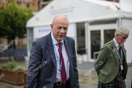 First Secretary of State Damien Green seen on the opening day of the Conservative Party Conference. There have been conflicts within the conservative party and government over the UK's approach to Brexit, which is expected to feature heavily at this years event.
