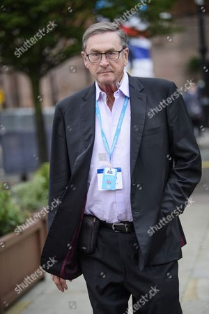 Lord Michael Ashcroft seen at the first day of the Conservative Party Conference. There have been conflicts within the conservative party and government over the UK's approach to Brexit, which is expected to feature heavily at this years event.