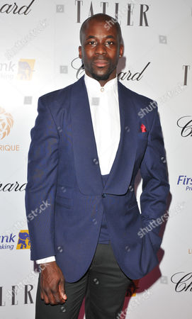 Editorial image of Lux Afrique gala dinner, Arrivals, London, UK - 01 Oct 2017