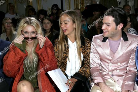 Cailin Russo, Lady Amelia Windsor and Peter Brant Jr.