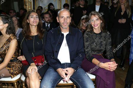 Caterina Murino, Medi Sadoun and Ophelie Meunier