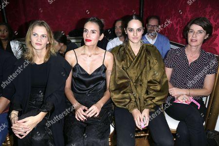 Margot Bancilhon, Louise Monot, Noemie Merlant and Irene Jacob
