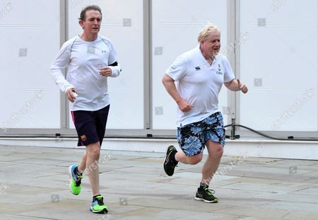 Stock Picture of Boris Johnson and Tony Gallagher