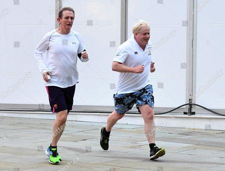 Boris Johnson and Tony Gallagher