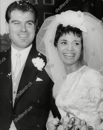 Wedding Of Middlesex Cricketer Ted Clark And Actress Zorenah Osborne. Box 748 212041734 A.jpg.
