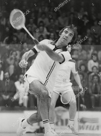Comedian Bernie Clifton Playing Squash. Box 750 414041731 A.jpg.