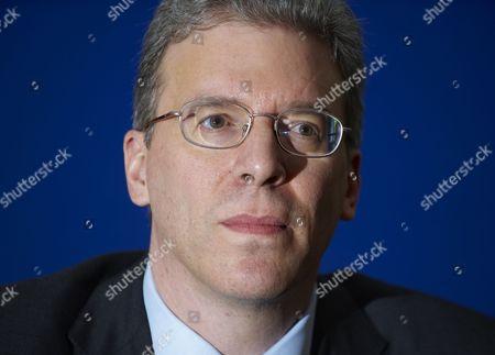 Rio Tinto CEO, Tom Albanese, during a news conference following the Rio Tinto AGM, London
