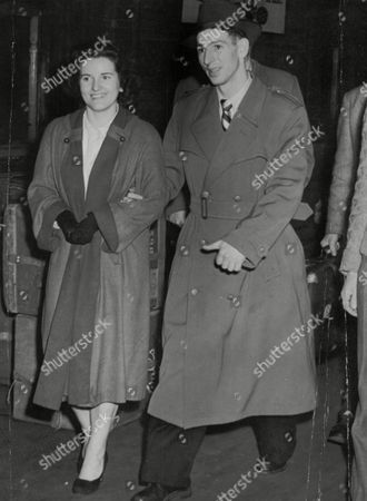 Footballer Roy Clarke Is Supported By His Wife On His Return To Manchester Where He Is To Receive Treatment For His Injured Knee. Box 751 224041727 A.jpg.