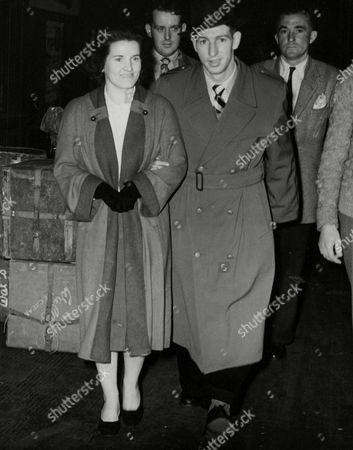 Footballer Roy Clarke Of Manchester City Fc And Wife. Box 751 624041715 A.jpg.