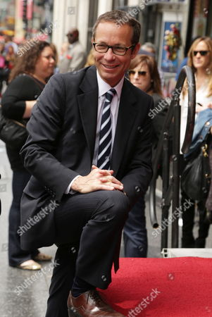 CAA's Richard Lovett seen at Sally Field Star on the Hollywood Walk of Fame, in Los Angeles, CA