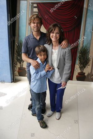 Eli Craig, Noah Craig and Sally Field seen at Sally Field Star on the Hollywood Walk of Fame, in Los Angeles, CA
