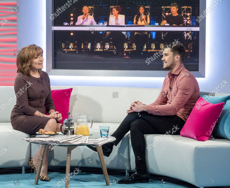 Lorraine Kelly and Brad Howard