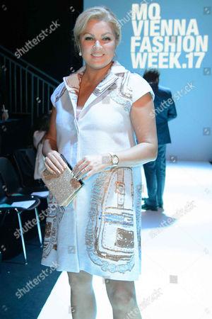 Editorial photo of Anelia Peschev show, Vienna Fashion Week, Austria - 12 Sep 2017