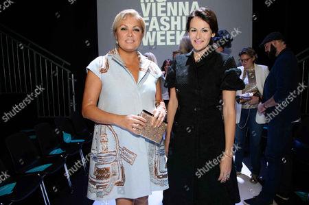 Editorial picture of Anelia Peschev show, Vienna Fashion Week, Austria - 12 Sep 2017