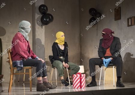 Editorial image of 'B' Play by Guillermo Calderon performed at the Royal Court Theatre, London, UK, 02 Oct 2017
