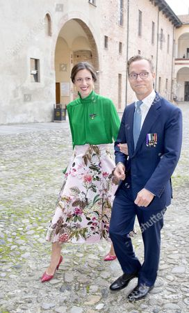 Prince Jaime of Bourbon-Parma, Count of Bardi and Princess Viktoria de Bourbon de Parma