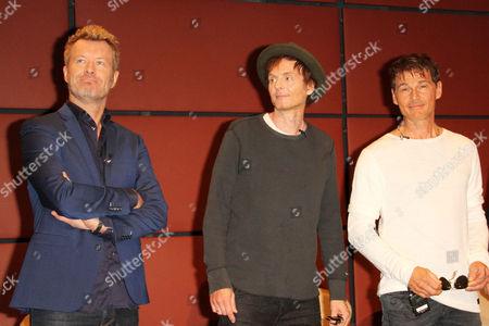 Magne Furuholmen, Pal Waaktaar-Savoy and Morten Harket