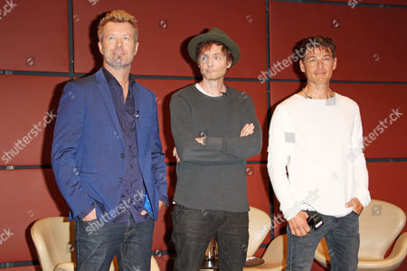 Editorial picture of A-ha photocall, Berlin, Germany - 13 Sep 2017