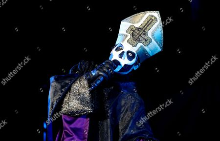 Editorial image of Ghost in concert, Stockholm, Sweden - 29 Sep 2017