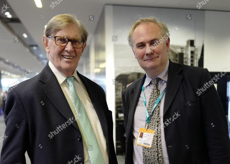Father and son William Cash MP and Bill Cash MP at the second day of the Conservative Party Conference