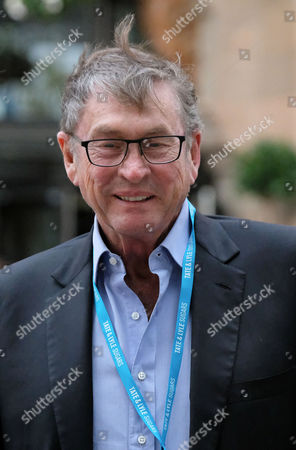 Former deputy chairman of the Conservative Party Lord Ashcroft at the second day of the Conservative Party Conference