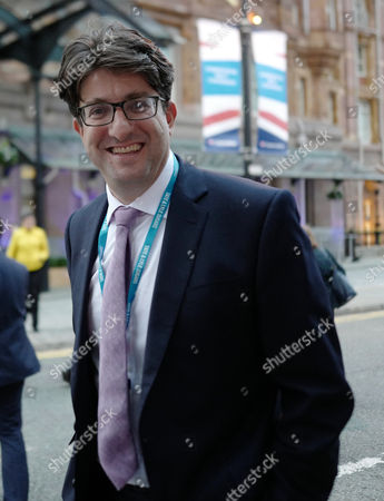 Stock Photo of Baron Feldman of Elstree at the second day of the Conservative Party Conference