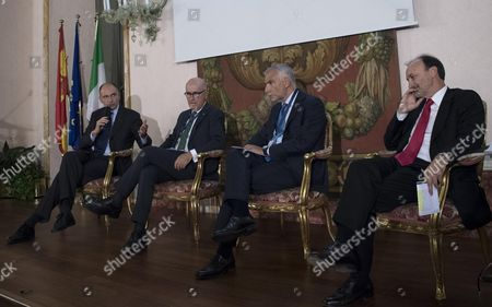 Editorial image of 15th Dialogue forum Italy-Spain in Rome - 02 Oct 2017