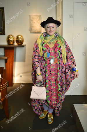 Bethan Laura Wood attends the PAD Art and Design Fair 2017 in Berkeley Square