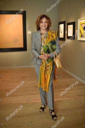 Stock Photo of Dorrit Moussaieff