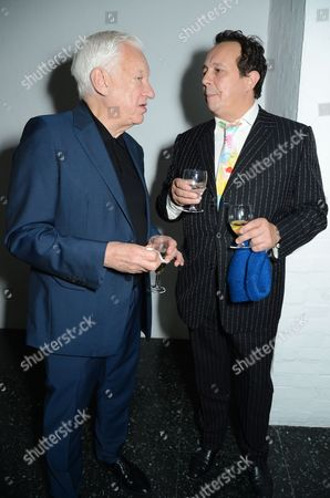 Editorial image of Annual Friends of the Institute of Contemporary Arts dinner, London, UK - 02 Oct 2017