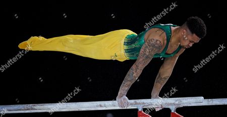 Editorial photo of Artistic Gymnastics World Championships, Montreal, Canada - 02 Oct 2017