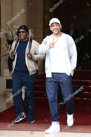 Jazzy Jeff and Will Smith
