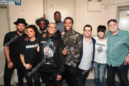 """Editorial photo of Student Screening of Open Road Films' """"Marshall"""" at Compton High School, Compton, USA - 02 Oct 2017"""