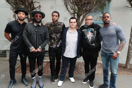 Jussie Smollett, Will.i.am, Chadwick Boseman, Josh Gad, Reginald Hudlin - Producer/Director and Sterling K. Brown