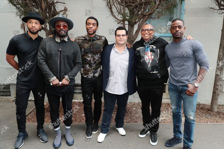 """Editorial picture of Student Screening of Open Road Films' """"Marshall"""" at Compton High School, Compton, USA - 02 Oct 2017"""