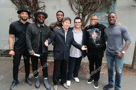 """Editorial image of Student Screening of Open Road Films' """"Marshall"""" at Compton High School, Compton, USA - 02 Oct 2017"""