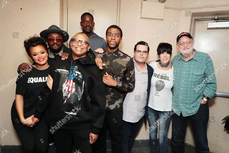 Andra Day, Will.i.am, Reginald Hudlin - Producer/Director, Sterling K. Brown, Chadwick Boseman, Josh Gad, Diane Warren - Songwriter and Jonathan Sanger - Producer