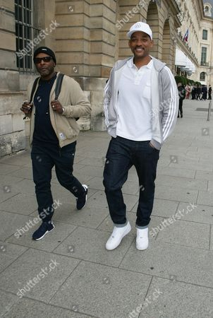 Editorial image of Will Smith and Jazzy Jeff out and about, Paris Fashion Week, France - 02 Oct 2017