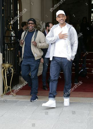 Editorial picture of Will Smith and Jazzy Jeff out and about, Paris Fashion Week, France - 02 Oct 2017
