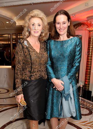 Lady Wolfson and Helena Newman
